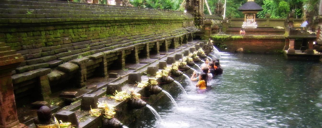 Tirta Empul Temple in Gianyar, Bali