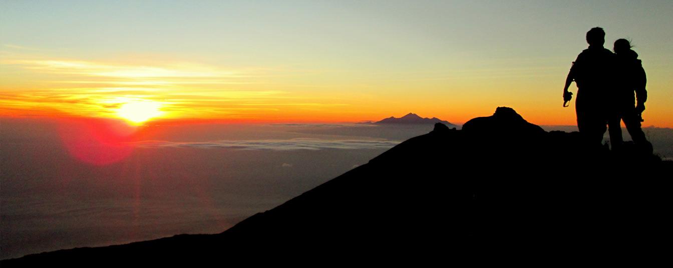 Hiking in Mount Batur Kintamani