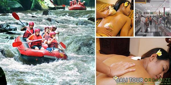 Ubud Tour & Rafting Package