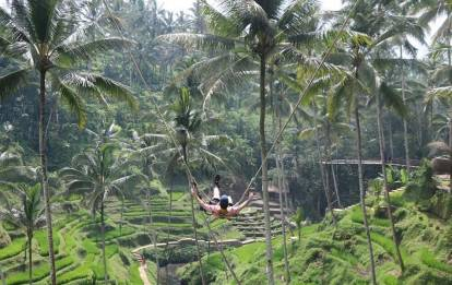 Tegalalang Ubud Rice Terrace Swing