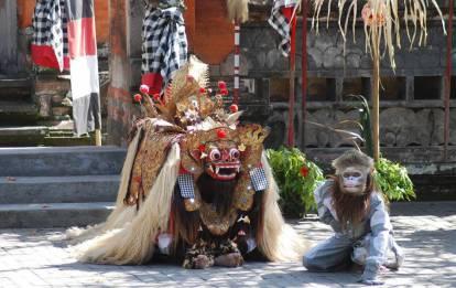 Barong Dance Perfomance
